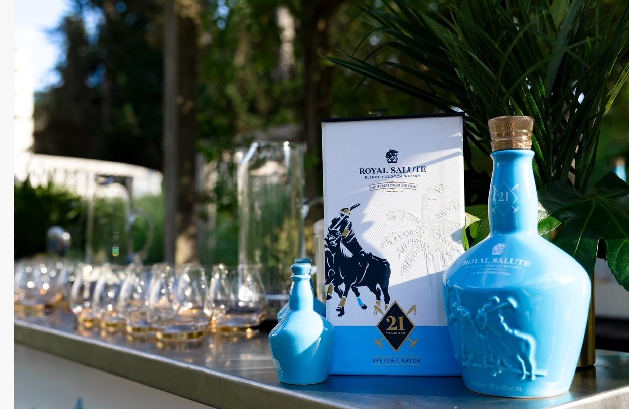 Royal Salute Launches 21 Year Old Beach Polo Edition Whisky in Royal Style  - Pursuitist