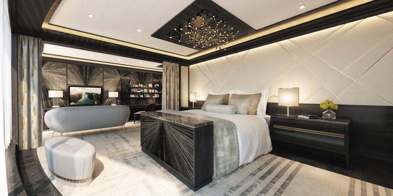 This 11 000 A Night Luxury Cruise Liner Suite Features A 200 000 Bed Pursuitist